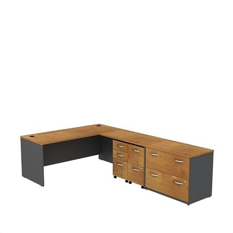 bush bbf series c 72 quot l shaped desk with storage in