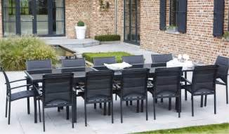 table de jardin r 233 sine tress 233 e leroy merlin
