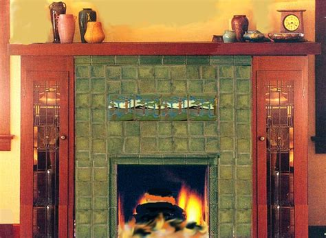 Motawi Fireplace by Motawi Tile Works Arts And Crafts Movement Tiles Dard
