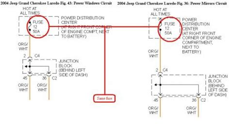 2004 jeep grand no power to power windows not one 2004 jeep power windows engine cooling problem