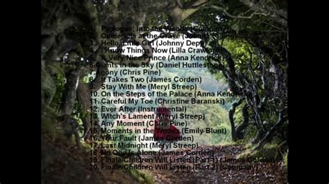 into the woods soundtrack download into the woods official movie soundtrack list 2014 youtube