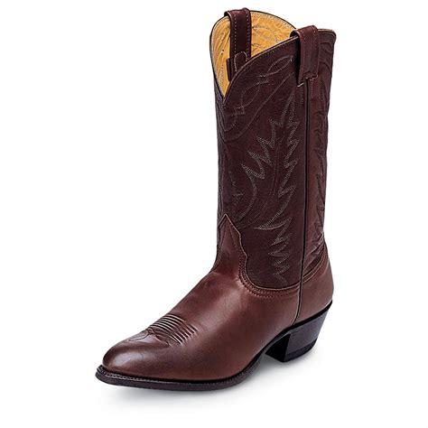western boots for s 12 quot nocona 174 deertan western boots 123767 cowboy