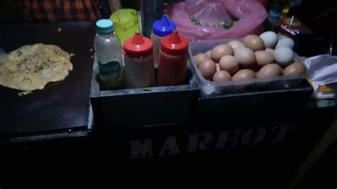 cara membuat martabak telur kaki lima jajanan kaki lima indonesia indonesian street food