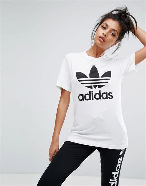 Tshirt Persib Adidas adidas originals oversized tshirt with trefoil logo white 163 22 00 londonfashionblog