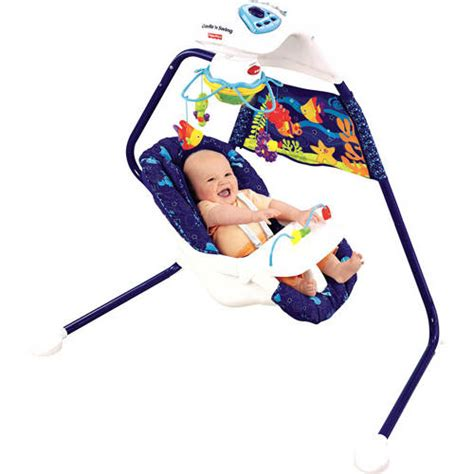 aquarium cradle swing fisher price fisher price wonders cradle swing walmart