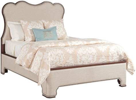 upholstered platform bed hadleigh upholstered king platform bed 607 332p