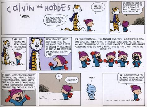 calvin and hobbes new years resolution resolving to calvin and hobbes 21 years later