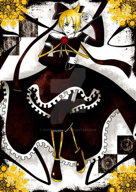 Kagamine Len Imitation Black kagamine len imitation black by voodoo dolly on