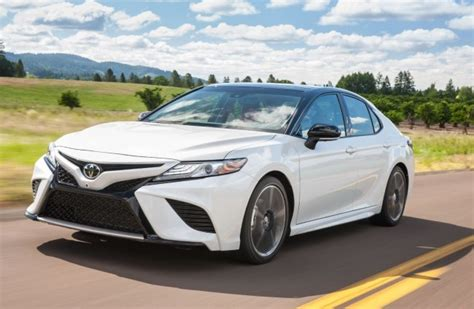 toyota camry 2018 white 2018 toyota camry redesign release date engine specs