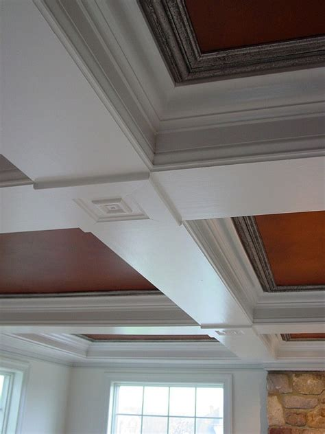 Stained Coffered Ceiling Pin By Maclean On Decor More