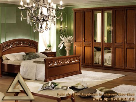 Luxus Schlafzimmer Sets by Luxus Schlafzimmer Set Torriani Massiv Holz Stilm 246 Bel