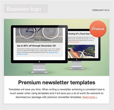 html newsletter templates 7 reasons to send an email newsletter to clients