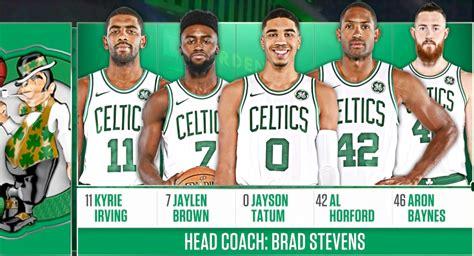 Kaos Nba 2017 2018 Boston Celtics nba 2017 2018 regular season minnesota timberwolves boston celtics 05 01 2018