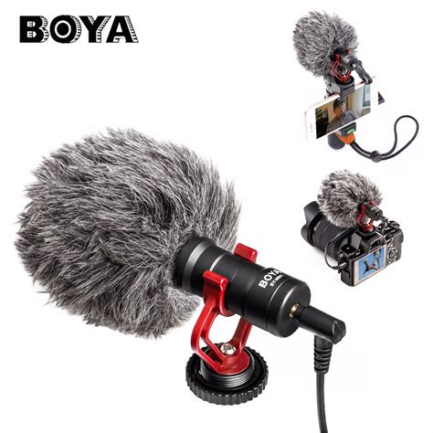 Boya By Mm1 Microphone For aliexpress buy boya by mm1 compact on microphone vlogging recording