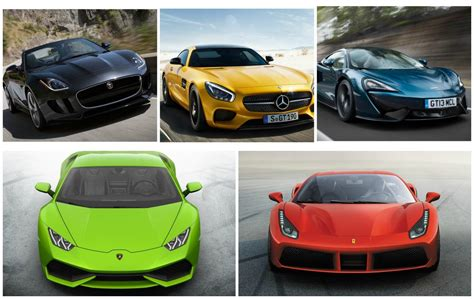 top 5 luxury sports cars for 2016 sports cars uae