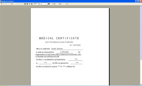 Health Certificate Letter Format Photo Salary Certificate Form Images