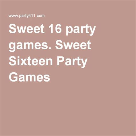 printable games for sweet 16 party sweet 16 party games sweet sixteen party games sweet