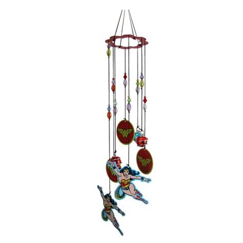 wonder woman home decor wonder woman figural metal wind chimes spoontiques wonder woman home decor at