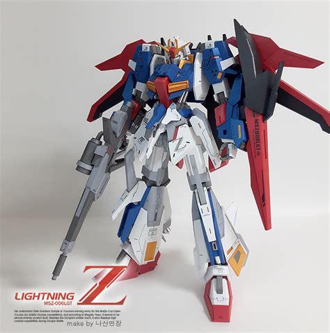 Paper Craft Gundam - gundam gundam papercraft lighting z gundam