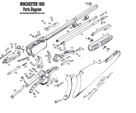 winchester model 94 parts diagram winchester model 12 schematics winchester get free image