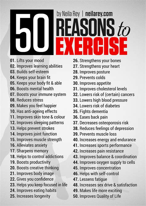 P Calendar Not Working 50 Reasons To Exercise Get Motivated Inspiration