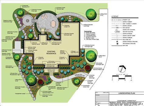 Landscape Architecture Drawings Dip Yourself Into Awesome Landscape Architecture Home