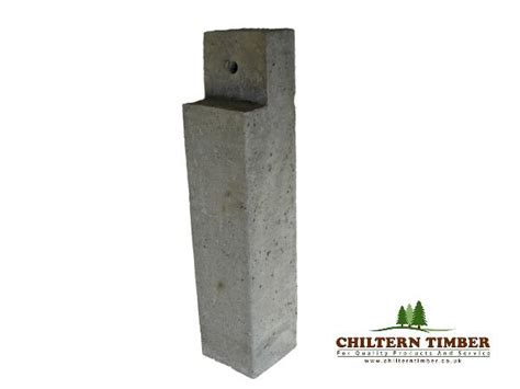 Concrete L Post by Decking Concrete Deck Post 100 X 100mm Chiltern Timber