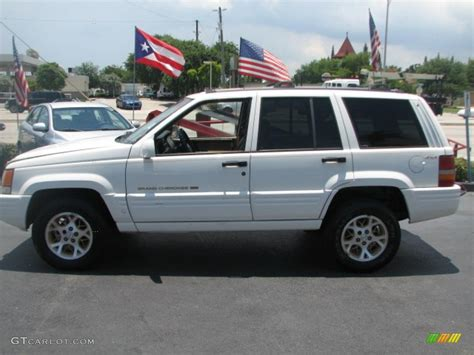 1996 Jeep Grand Limited White 1996 Jeep Grand Limited 4x4 Exterior