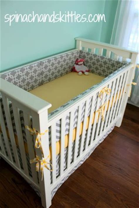 How Much Is A Baby Crib Diy Crib Bumper For Sure To Do This Depending On How Much Fabric Is Baby Boy