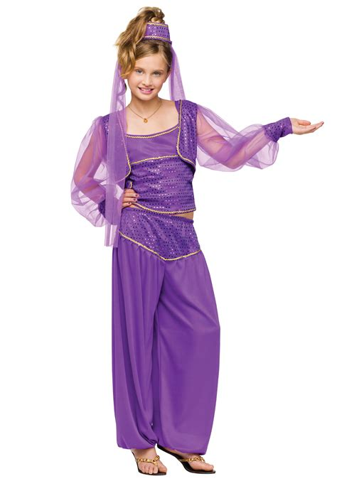 Aladin Polos Uk 7 12 Th Aladin Anak Tanggung Celana Anak Tanggung child dreamy genie costume