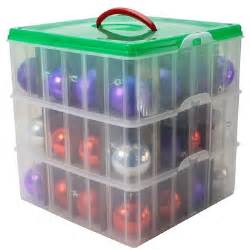snapware christmas and holiday ornament storage box