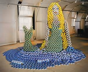 How To Build A Canned Food Sculpture by If It S Hip It S Here Archives Canstruction Food Can