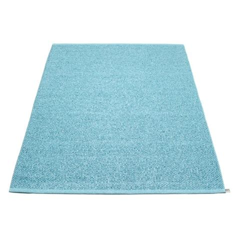 Plastic Rugs Uk pappelina svea plastic rug in azur blue from cloudberry living children s rugs 10 of the