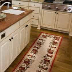 Apple Kitchen Rug Sets Orian Apple Border Olefin Runner Rug 1 11 Quot X 6 Walmart