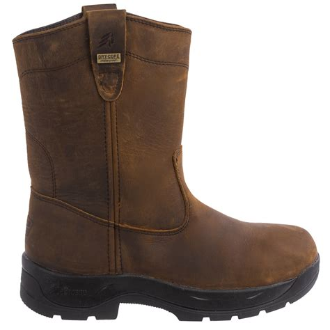 comfort boots lacrosse quad comfort 11 wellington work boots for men