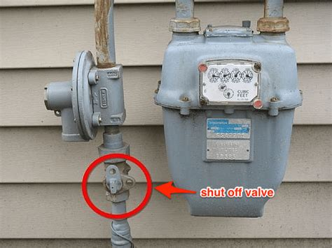 how to turn off gas to house how to locate gas water shut offs electrical panels more the art of manliness