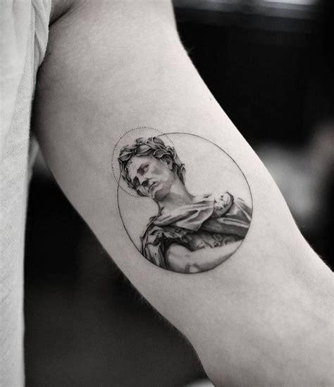 julius caesar tattoo best 25 etching ideas on black tattoos
