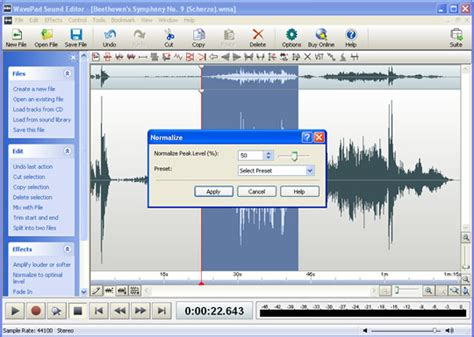audio video editing software free download full version for windows 7 wavepad sound editor free download full