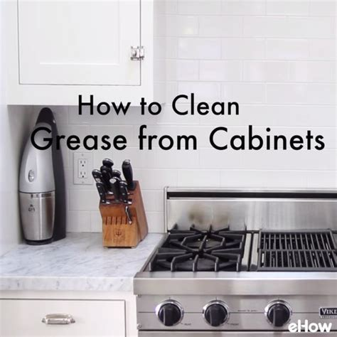clean kitchen cabinets grease easy to make homemade kitchen cabinet cleaner