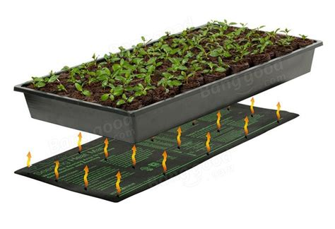 Warming Mat For Plants by 120v Plant Seedling Growth Electric Heating Pad Gardening