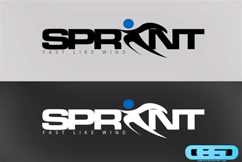 sprint layout logo sprint logo by ceedche on deviantart