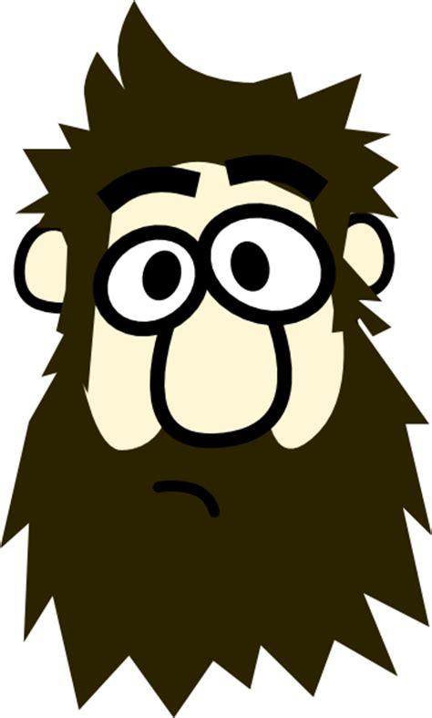 Bearded Clipart bearded clip at clker vector clip
