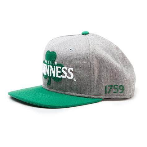 sb07jegns guinness dublin shamrock snapback baseball cap
