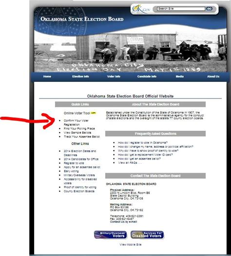 oklahoma voter list information oklahoma election board new online voter tools look up