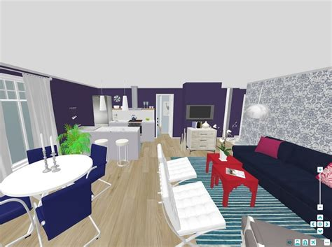 3d home interior design free interior design roomsketcher