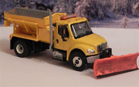 snow salt spreader freightliner m2 snow plow salt spreader