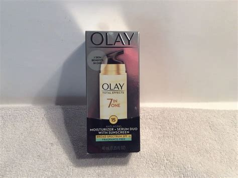 Olay Total Effects 7 In1 Anti Aging olay total effects 7 in 1 anti aging moisturizer serum duo