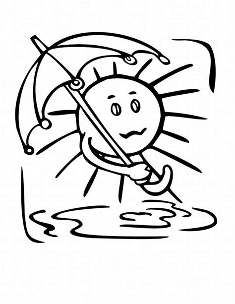 weather coloring page free weather coloring page az coloring pages