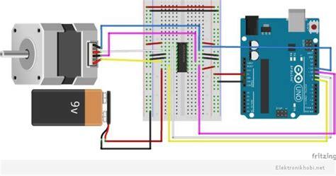 arduino 6 wire stepper motor 7 adımda arduino ile adım step motor denetimielektronik hobi
