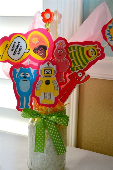 yo gabba gabba centerpieces 135 best images about yo gabba gabba ideas on